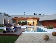 Best Buy Alamo Ranch for a Modern Pool with a Side Tables and Outdoor Living by Dumican Mosey Architects