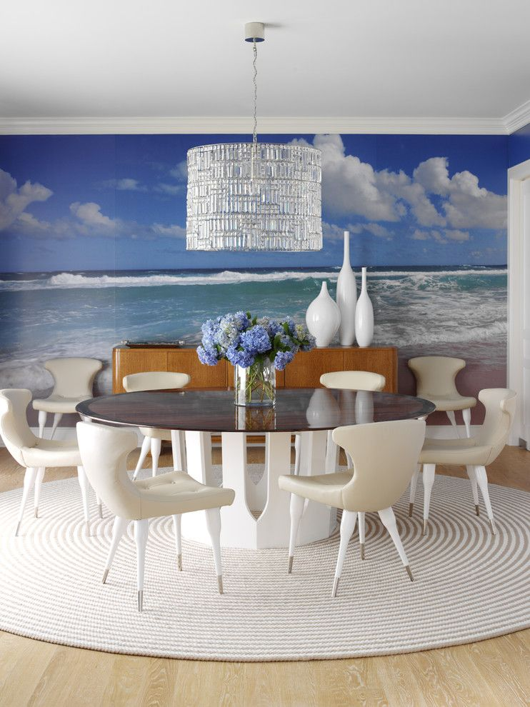 Best Buy Carmel Mountain for a Contemporary Dining Room with a Drum Pendant and Colorful by Anthony Baratta Llc
