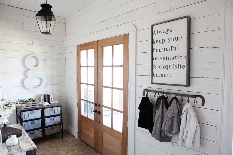 Best Buy Joliet Il for a Farmhouse Entry with a Letter and the Farmhouse by Magnolia Homes