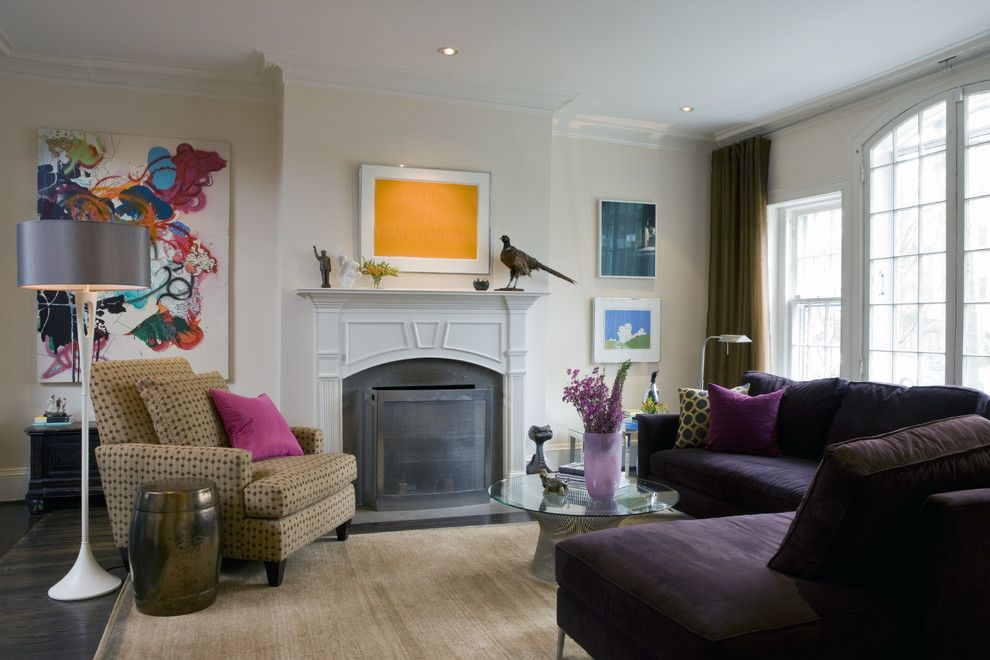 Best Buy Mechanicsburg Pa for a Modern Family Room with a Ceiling Lighting and Washington, Dc by Liz Levin Interiors