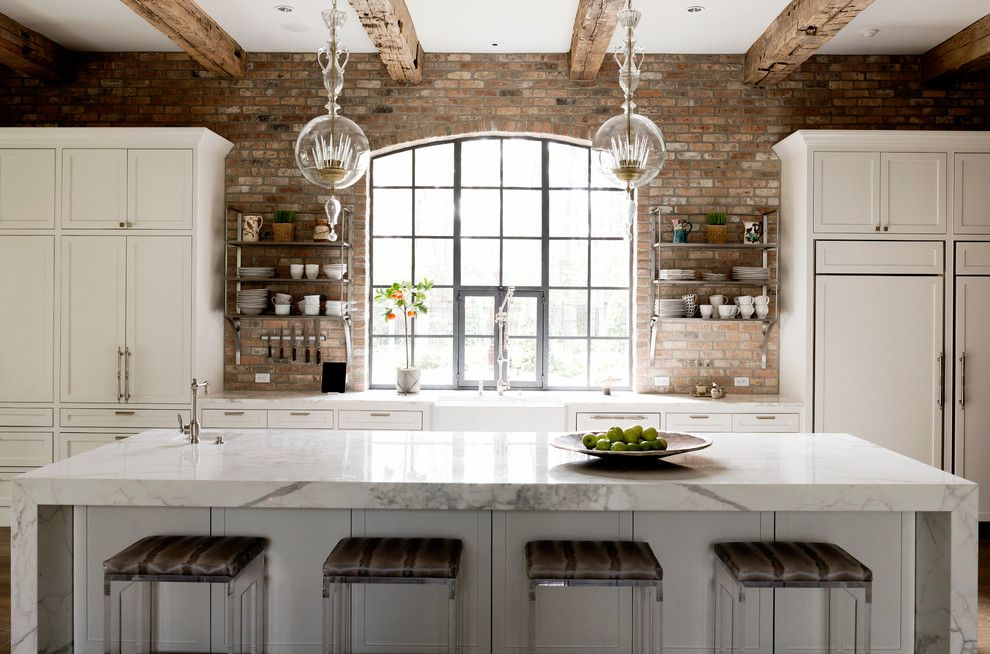 Best Buy Waco Tx for a Transitional Kitchen with a Arch Window and Wilding by Thompson Custom Homes