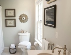 Best Buy Watertown Ma for a Traditional Bathroom with a Mosaic Tile and Nantucket, Ma. by Beach Glass Interior Designs