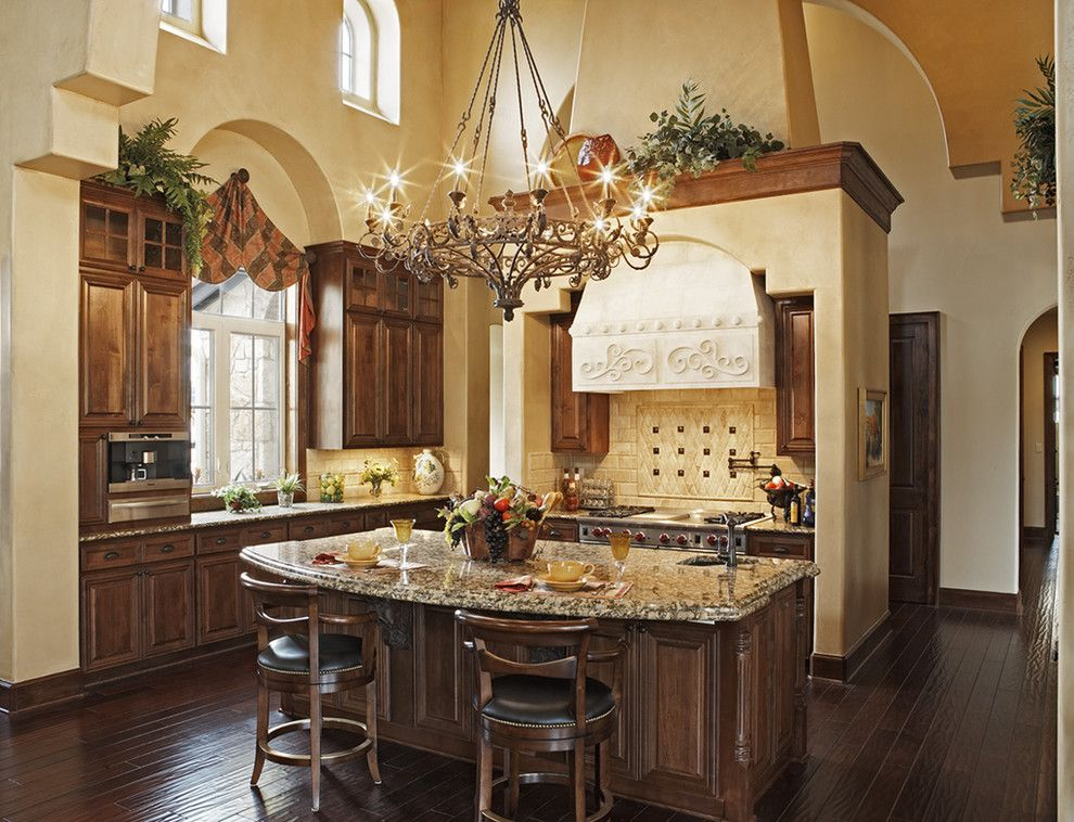 Best Buy Webster Tx for a Mediterranean Kitchen with a Eat in Kitchen and Great Kitchens by Jenkins Custom Homes
