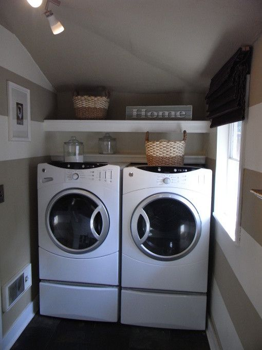 Best Smelling Laundry Detergent for a Eclectic Laundry Room with a Laundry Utility Remodel and Laundry Room by Bethany Hensley
