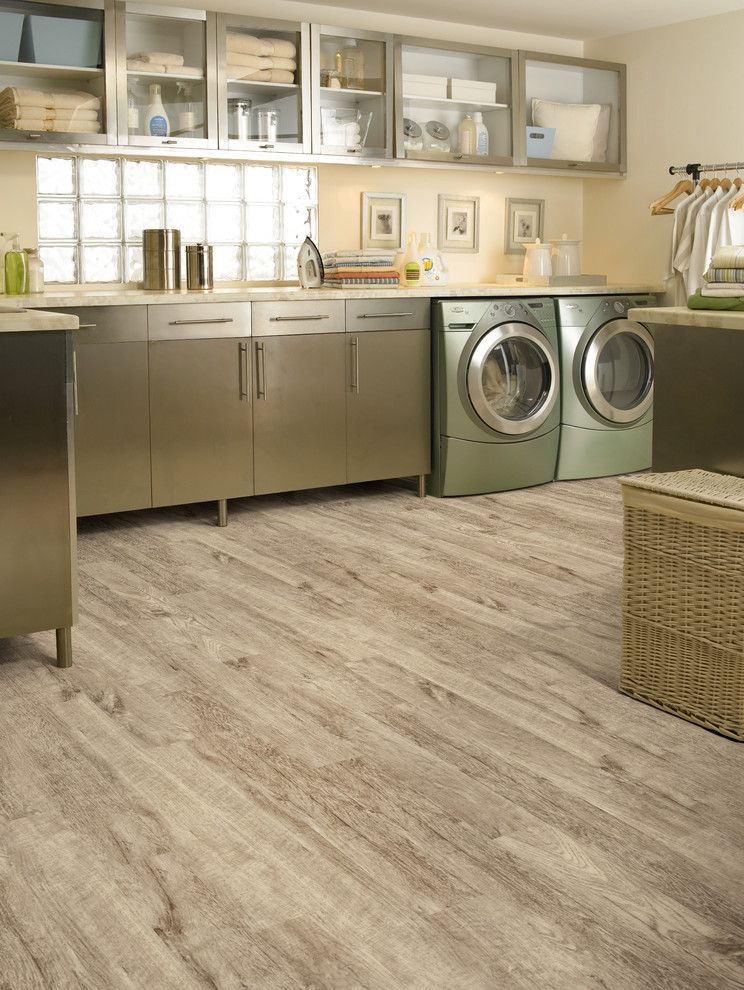 Best Smelling Laundry Detergent for a Modern Laundry Room with a Mud Room and Laundry Room by Carpet One Floor & Home
