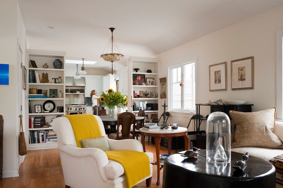 Betenbough Homes for a Eclectic Living Room with a Wall Decor and Katerina Tana Design by Katerina Tana Design