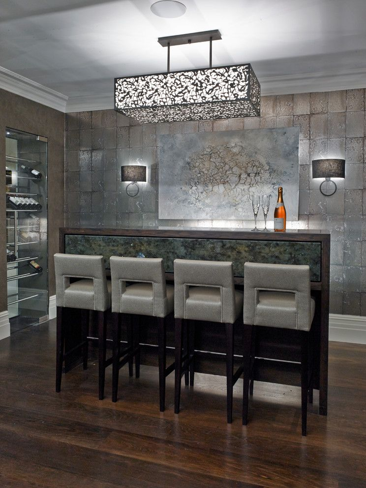 Betenbough Homes for a  Home Bar with a Bar Stools and New Lodge by Green County Developments