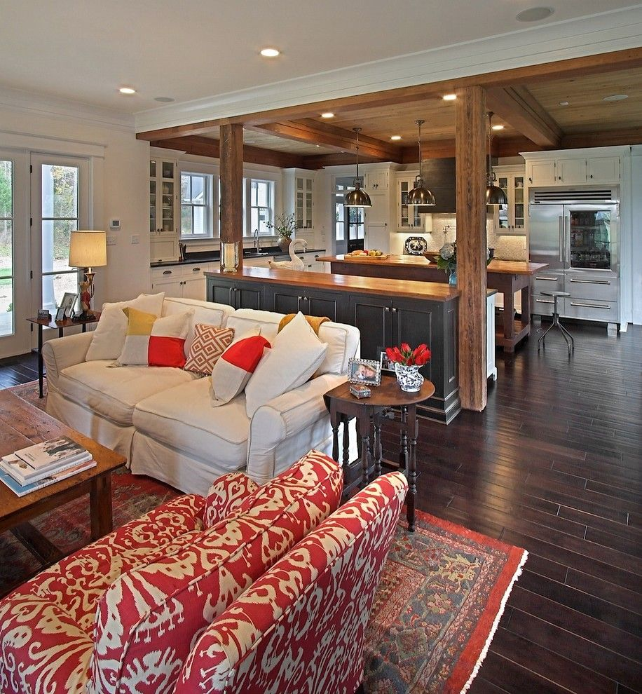 Betenbough Homes for a Traditional Living Room with a Turned Legs and Modern Farmhouse by Kdw Home/kitchen Designworks