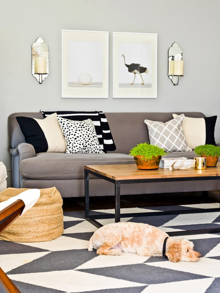 Better Business Bureau Richmond Va for a Contemporary Living Room with a Contemporary and the Everygirl by Cynthia Lynn Photography