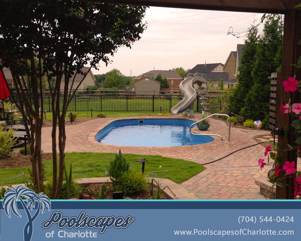 Better Business Bureau Richmond Va for a Traditional Pool with a Inground Pool and Traditional Swimming Pools by Poolscapes of Charlotte