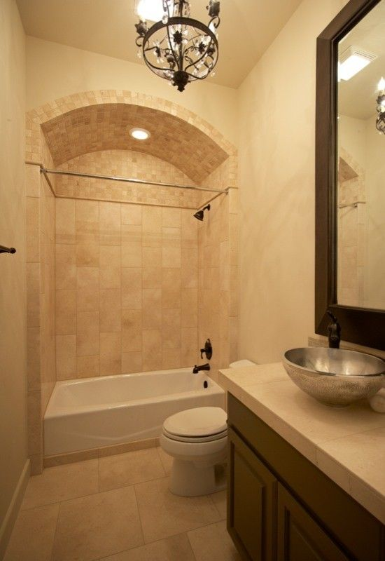 Binswanger Glass Austin for a Mediterranean Bathroom with a Mediterranean and Point Venture Waterfront Home by Silverton Custom Homes