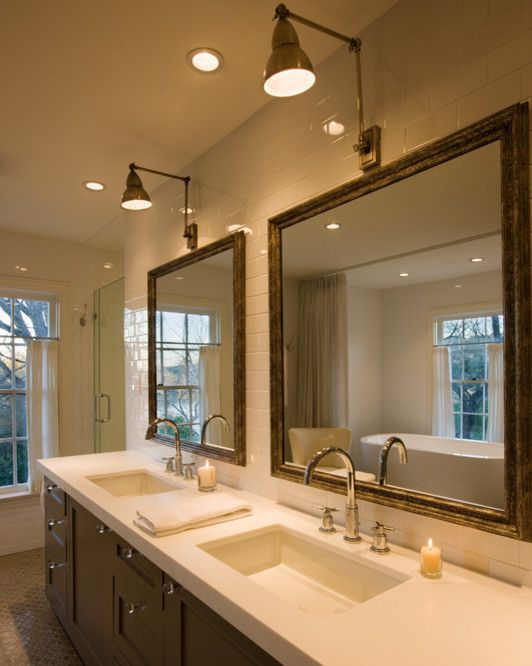 Binswanger Glass Austin for a Modern Bathroom with a Modern and Sweetbrush Residence by Texas Construction Company