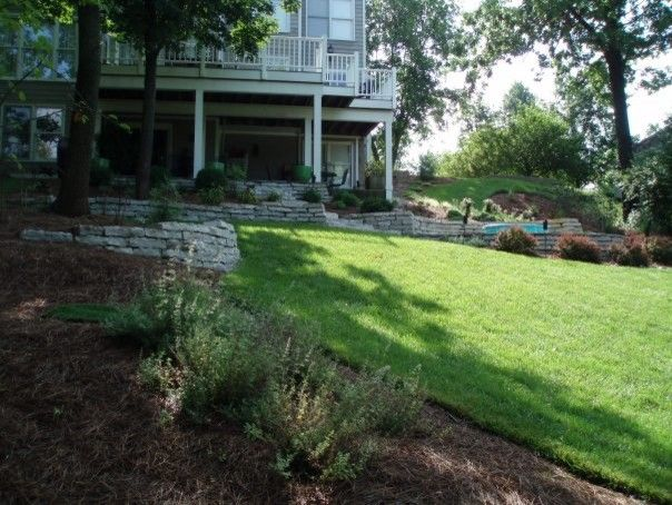Bloomin Gardens for a  Landscape with a Patio and Landscaping / Our Work by Bloomin Garden Centre