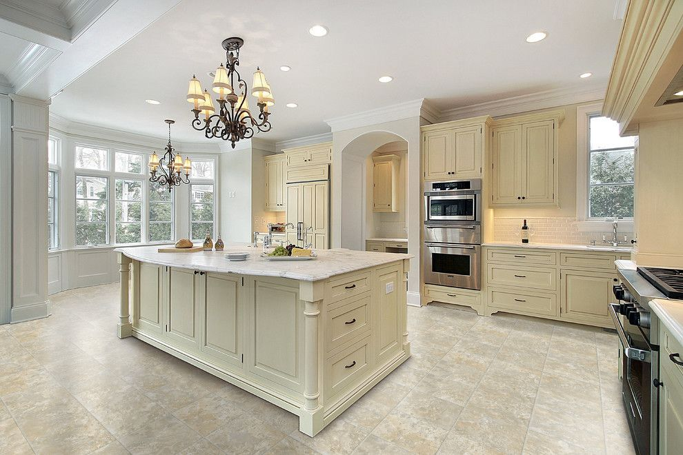 Bluefin Bay for a Farmhouse Kitchen with a Vinyl and Kitchen by Carpet One Floor & Home