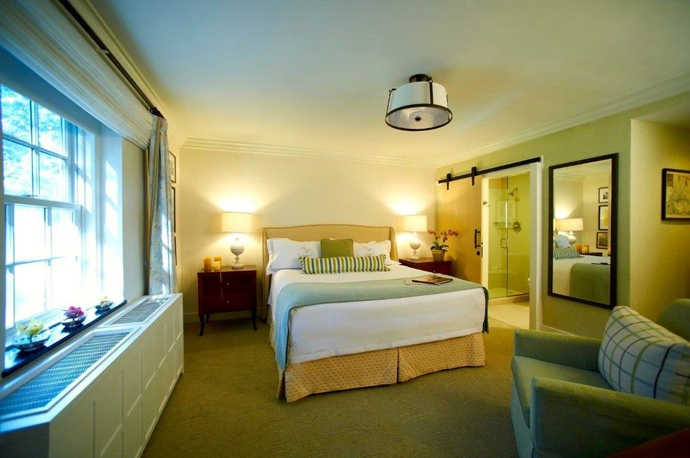 Boars Head Inn for a Contemporary Bedroom with a Finish and Boars Head Inn by Leatherneck Hardware Inc.