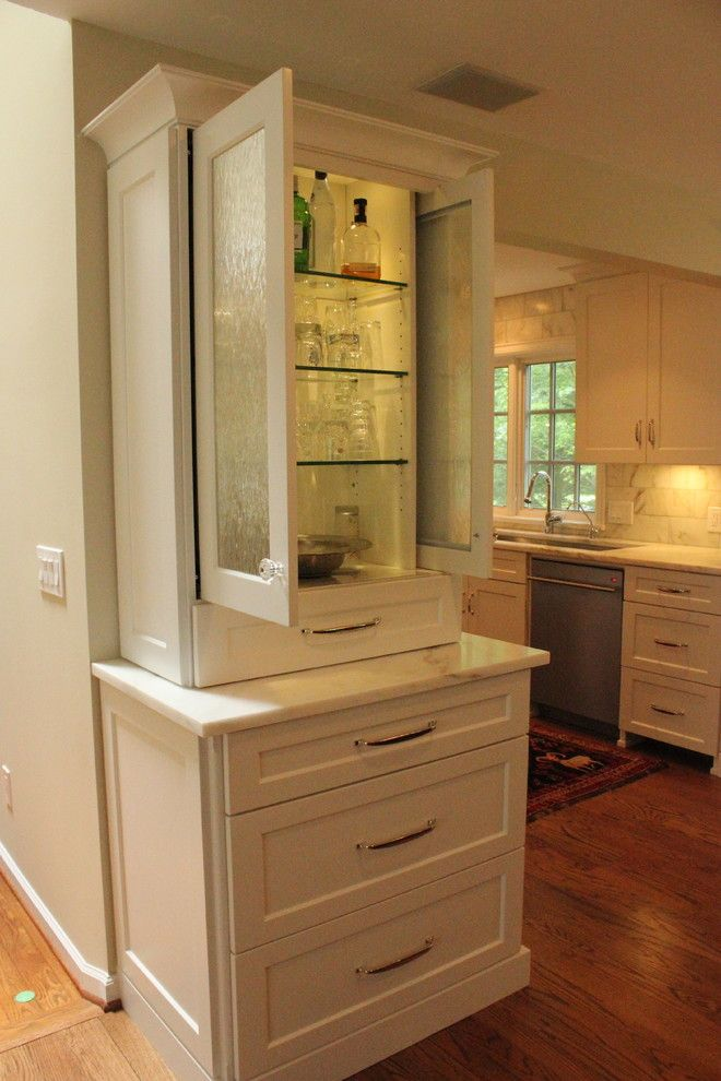 Bobrick for a Traditional Kitchen with a Traditional and Custom Kitchen by Misch Bobrick Design Llc