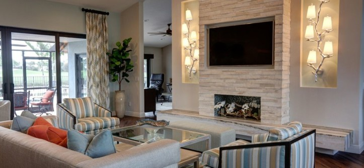 Boca Woods Country Club for a Transitional Living Room with a Transitional and Boca Woods Country Club by J. Alexander Interiors, Inc.