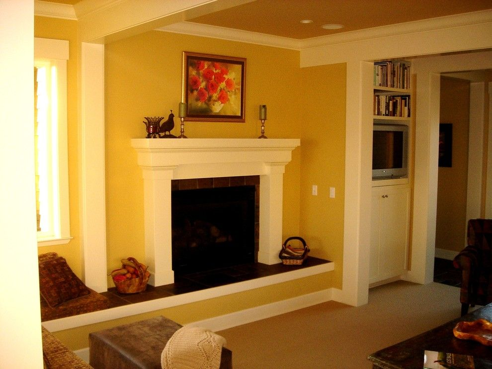 Bodega Bay and Beyond for a Contemporary Living Room with a Interior Trim and Kilkenny Residence, Bodega Bay by Barnard Construction, Inc.
