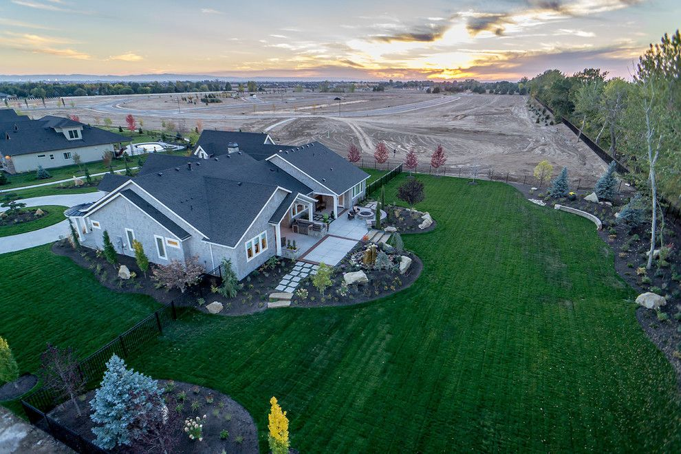 Boise Indoor Soccer for a Contemporary Exterior with a Surround View and Sugarberry by Alturas Homes