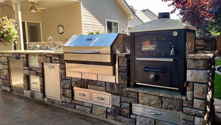 Boise Indoor Soccer for a  Patio with a Outdoor Entertaining and Customer Photos, New American Oven by New American Ovens