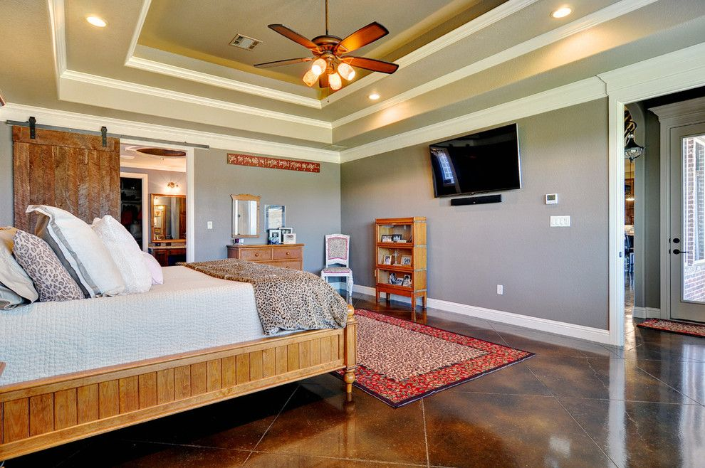 Boral Bricks for a Traditional Bedroom with a Wood Floor and Couto Custom Home   Granbury, Tx   Custom Home   Moody Residence by Couto Homes