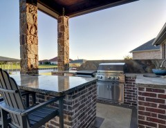 Boral Bricks for a Traditional Porch with a Stucco and Couto Custom Home - Granbury, TX - Custom Home - Moody Residence by Couto Homes
