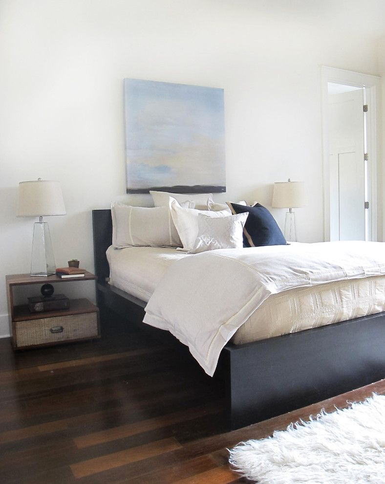 Bouldin Creek for a Contemporary Bedroom with a West Elm and Bouldin Creek by Saavedra Design Studio