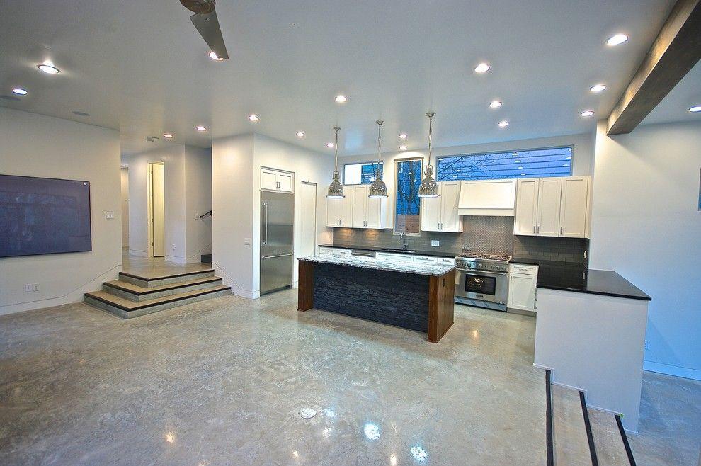 Bouldin Creek for a Modern Kitchen with a Walnut and Bouldin Creek Modern by Bonterra Build   Design