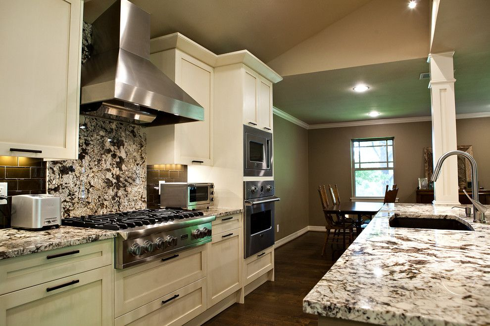Bowling Alley Dallas for a Traditional Kitchen with a Countertops and Lake Highlands Remodel by Eric Cantu Construction