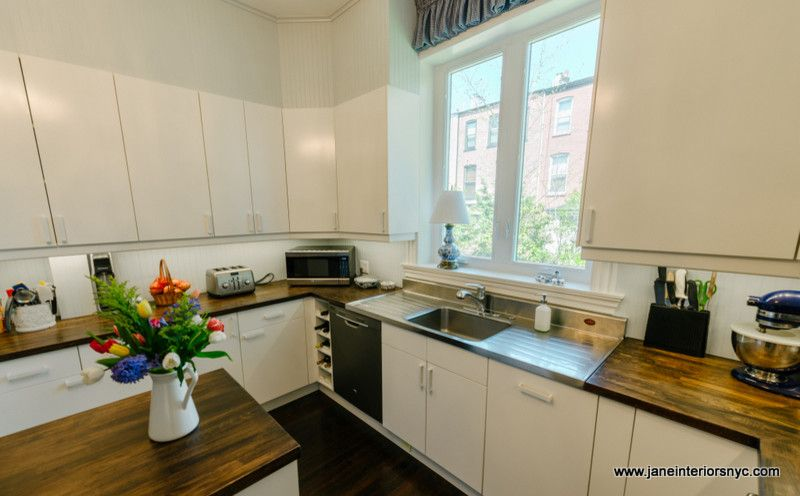 Bowling Alleys In Nyc For A Transitional Kitchen With A Kitchen