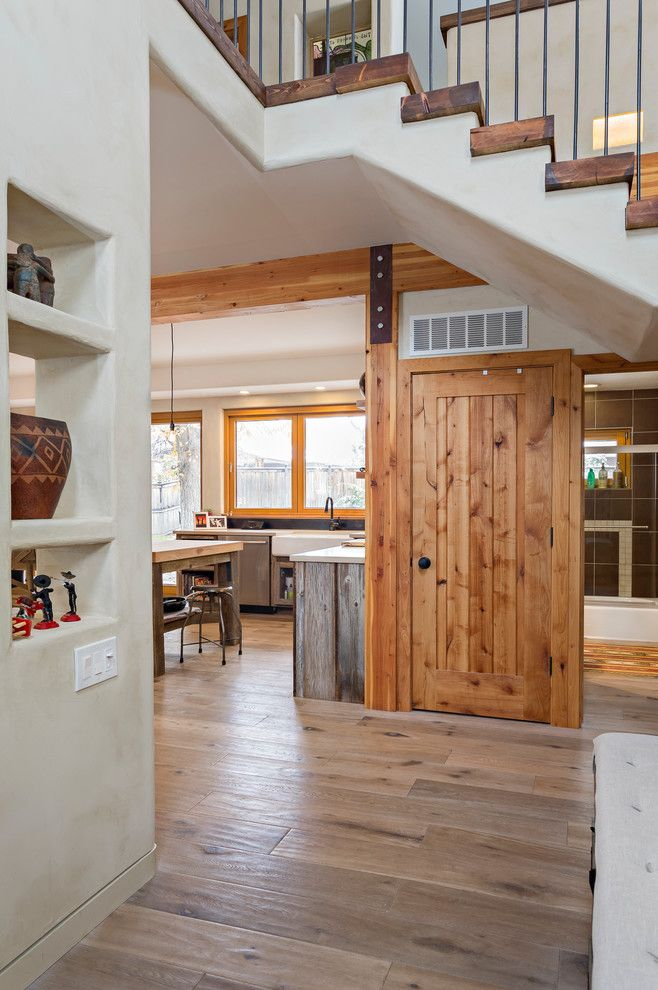 Brakes Plus Denver for a Southwestern Hall with a Folding Doors and Renew by Zola Windows