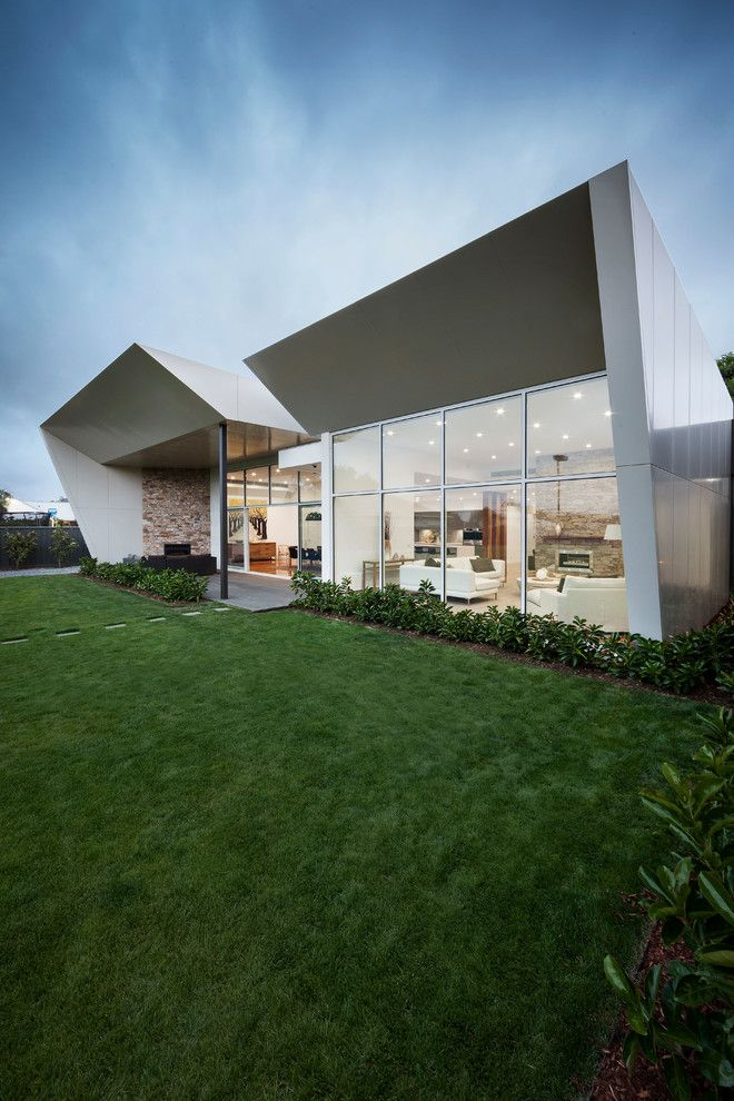 Bravos Pizza for a Contemporary Exterior with a Brass and Marsh House by Lsa Architects