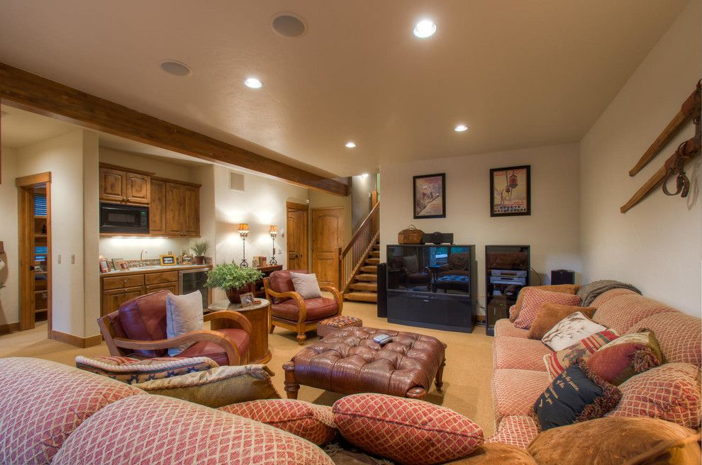 Breckenridge Theater for a Rustic Home Theater with a Contemporary and 95 Sunrise Point Drive, Breckenridge, Co by Paffrath & Thomas Real Estate