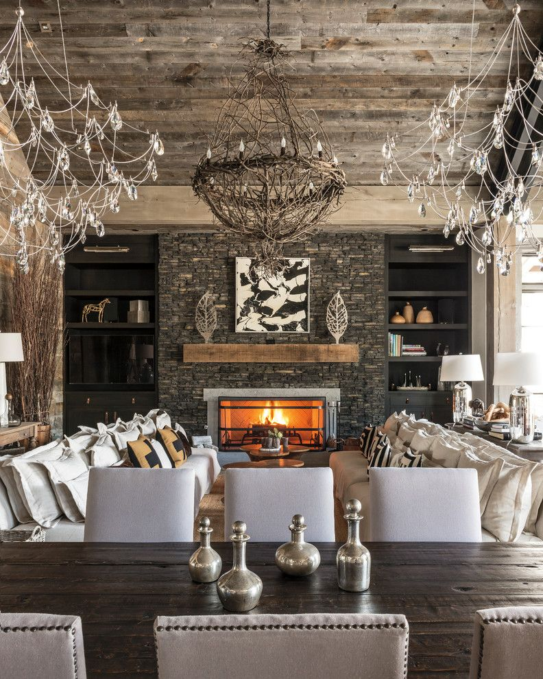 Briar Chapel for a Rustic Dining Room with a Rustic and Eldorado Stone 2017 by Eldorado Stone
