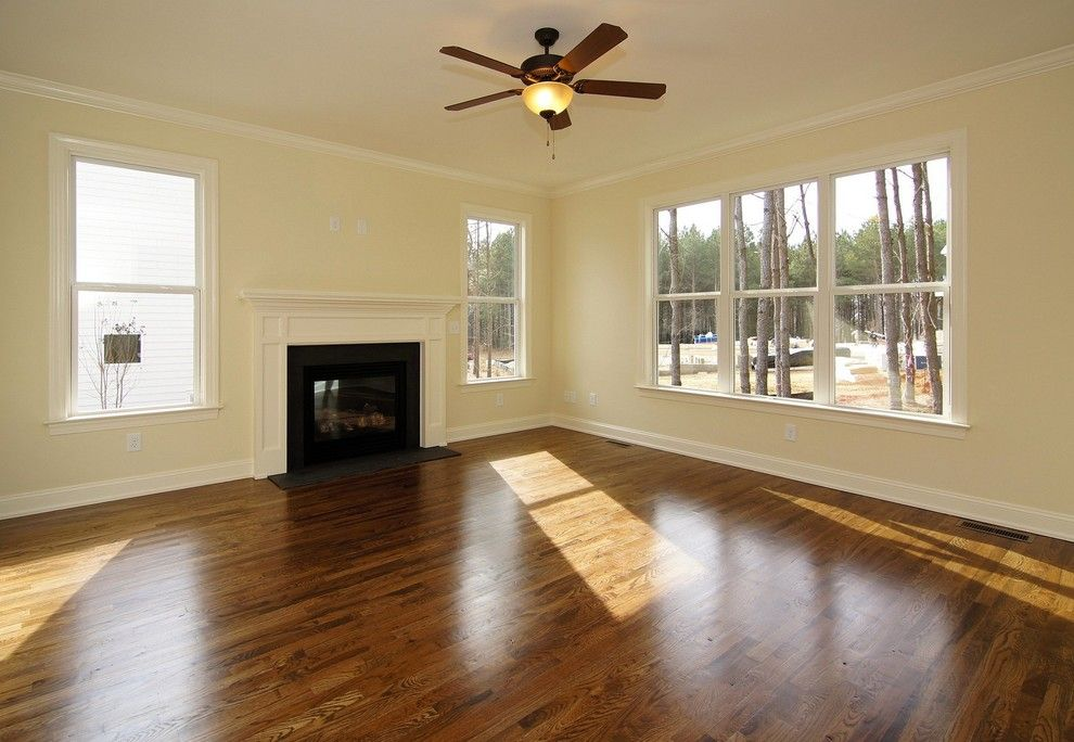 Briar Chapel for a  Spaces with a  and the Aberdeen Custom Home in Briar Chapel by Homes by Dickerson