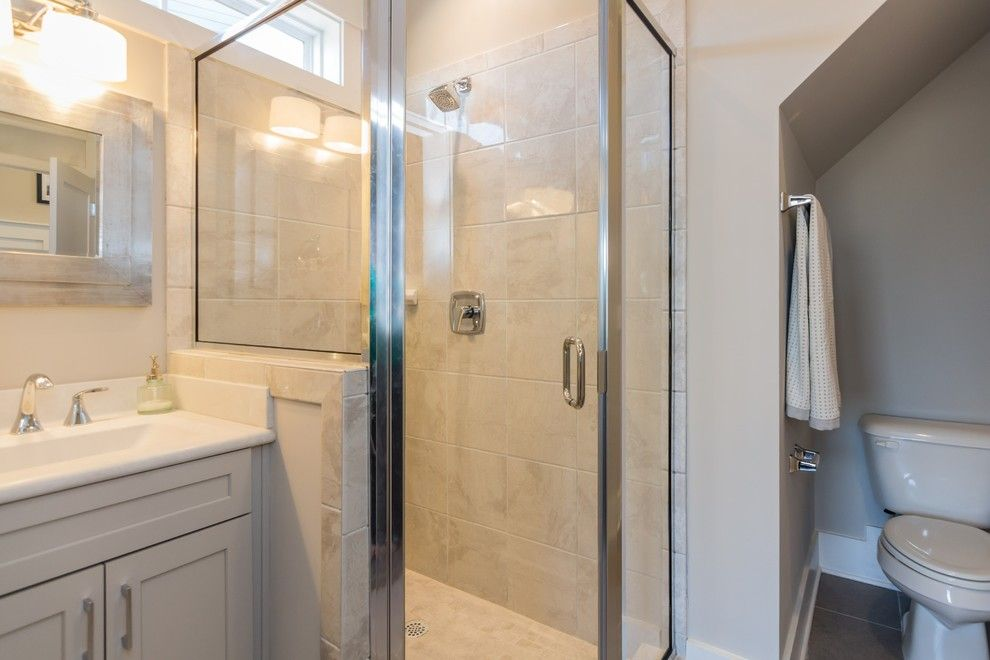 Briar Chapel for a Transitional Bathroom with a Exterior and Garman Homes   Briar Chapel Model   the Overachiever by Garman Homes