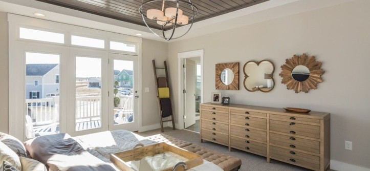 Briar Chapel for a Transitional Bedroom with a Reclaimed Wood and Garman Homes - Briar Chapel Model - the Overachiever by Garman Homes