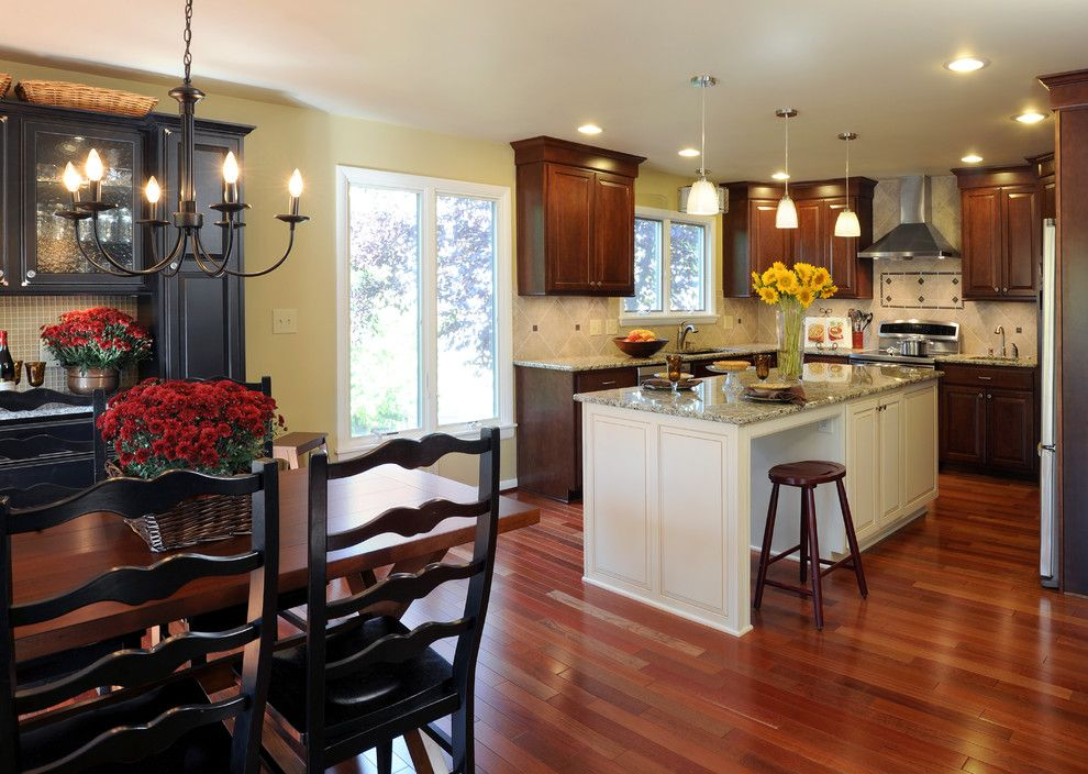 Bridgewood for a Traditional Kitchen with a Granite Countertops and Armstrong Kitchen Addition by Kircher Design & Build