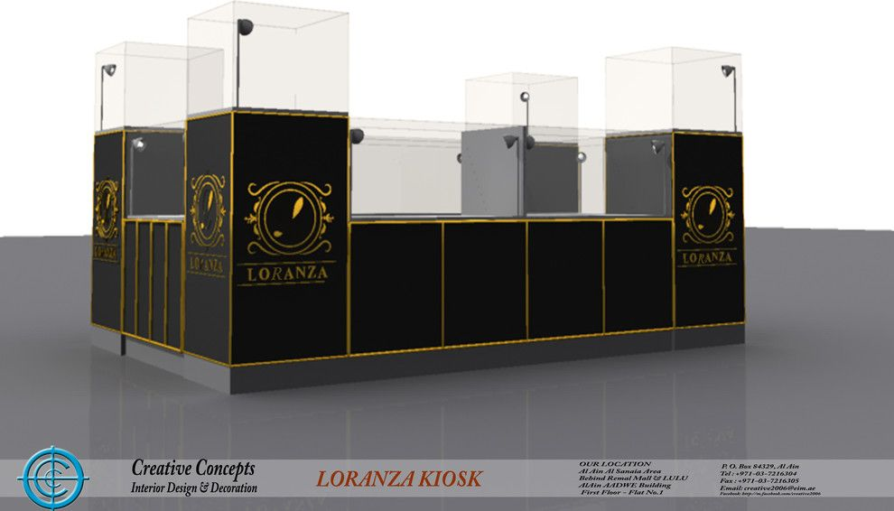 Concepts Group Interior Design Deco Brock Auto Parts For A Modern Spaces With Fit Out And Loranza Kiosk Jimi Mall