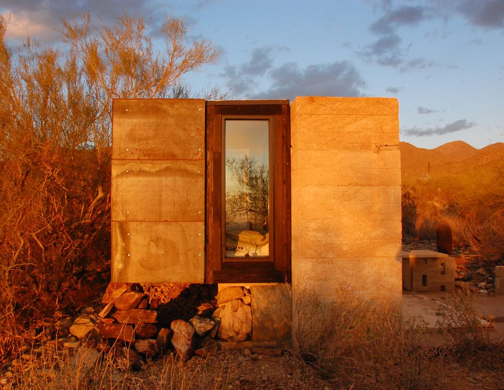 Broken Arrow Theater for a Contemporary Exterior with a Contemporary and the Miner's Shelter by Broken Arrow Workshop