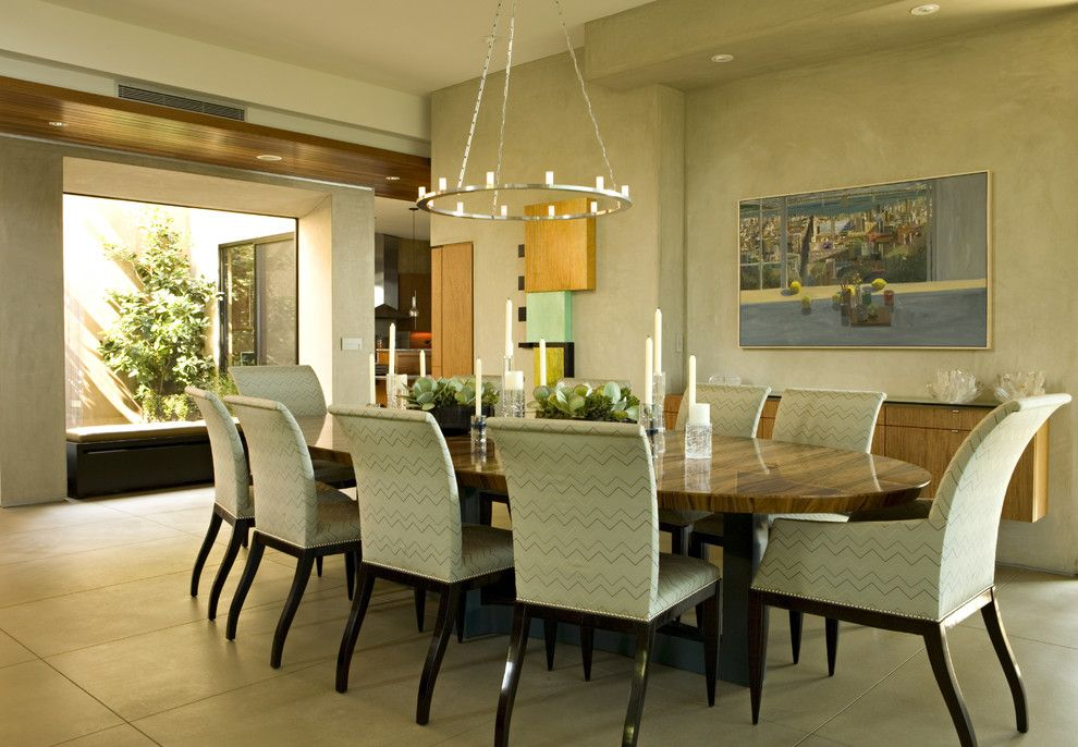 Brownlee Furniture for a Contemporary Dining Room with a Remodel and Contemporary Newport Beach Residence by Harte Brownlee & Associates Interior Design