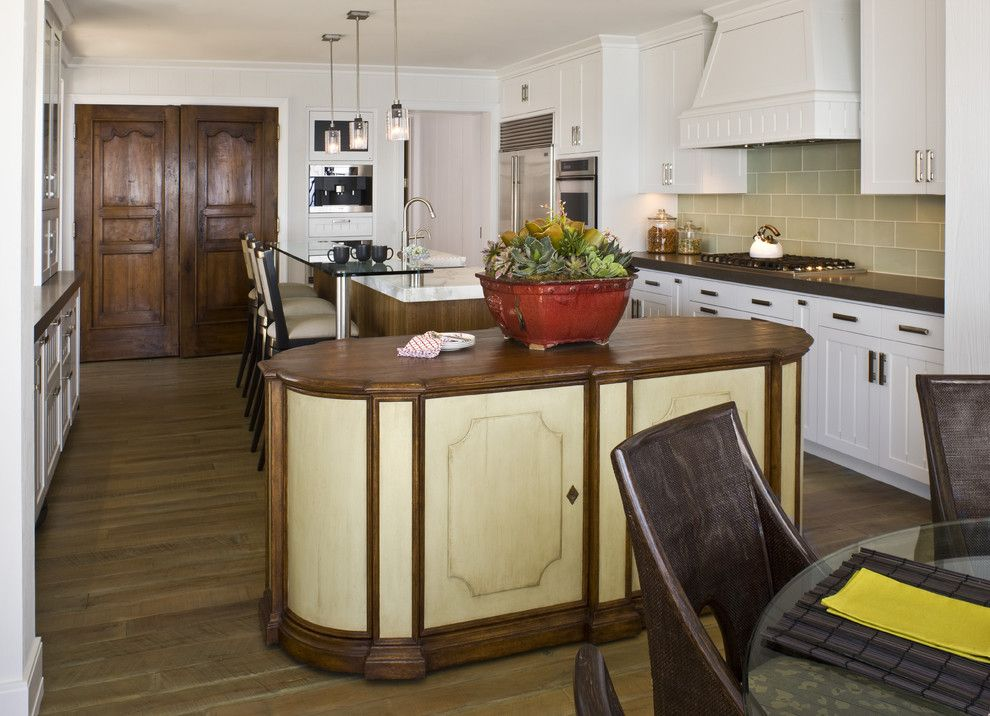 Brownlee Furniture for a Contemporary Kitchen with a Southern California and Contemporary Beach Home by Harte Brownlee & Associates Interior Design