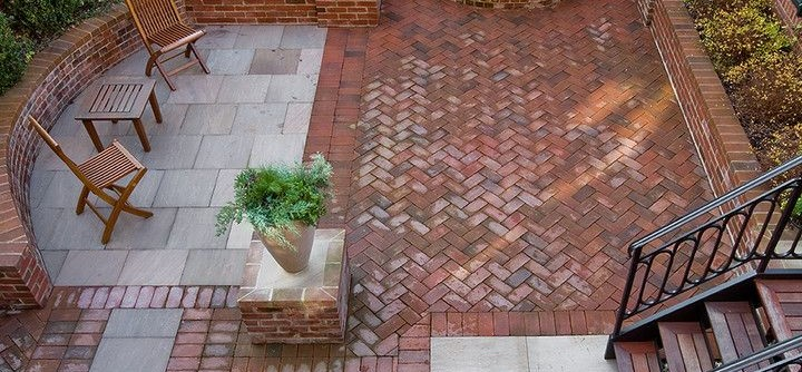 Brownstone Gardens for a Traditional Patio with a Deck and Brooklyn Heights Addition by Ben Herzog