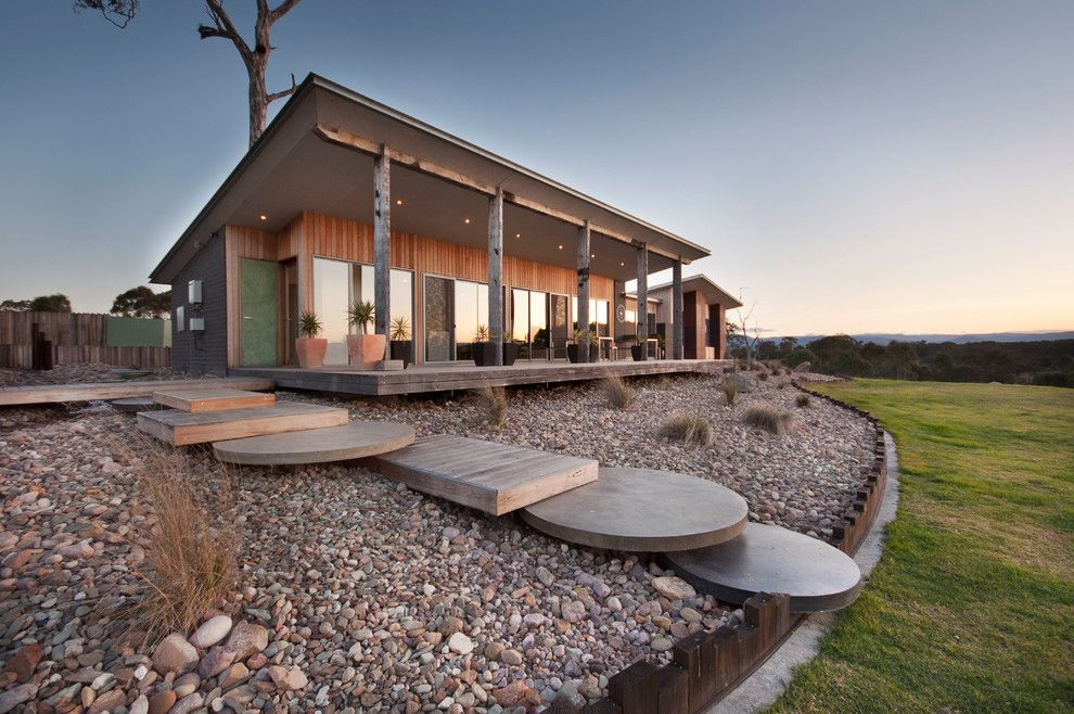 Buckeye Heating and Cooling for a Farmhouse Exterior with a Modern Rural and Cherry Lane by Adam Hobill : Design