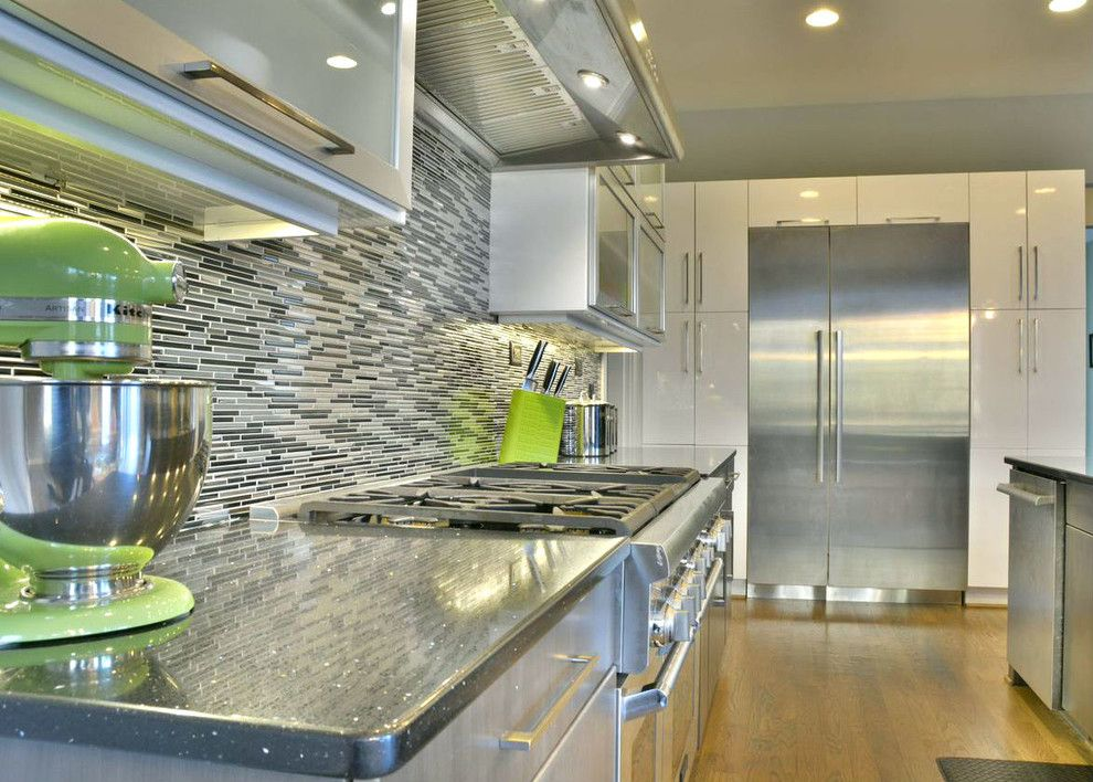 Buildex for a Modern Kitchen with a Contemporary and Governors Club Lime & Chrome Modern Kitchen//chapel Hill, Nc by Buildex