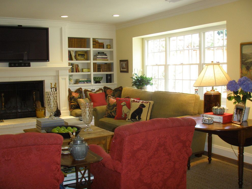 Burke Rehabilitation Center for a Traditional Family Room with a Occasional Chairs and Kathleen Burke Design by Kathleen Burke Design