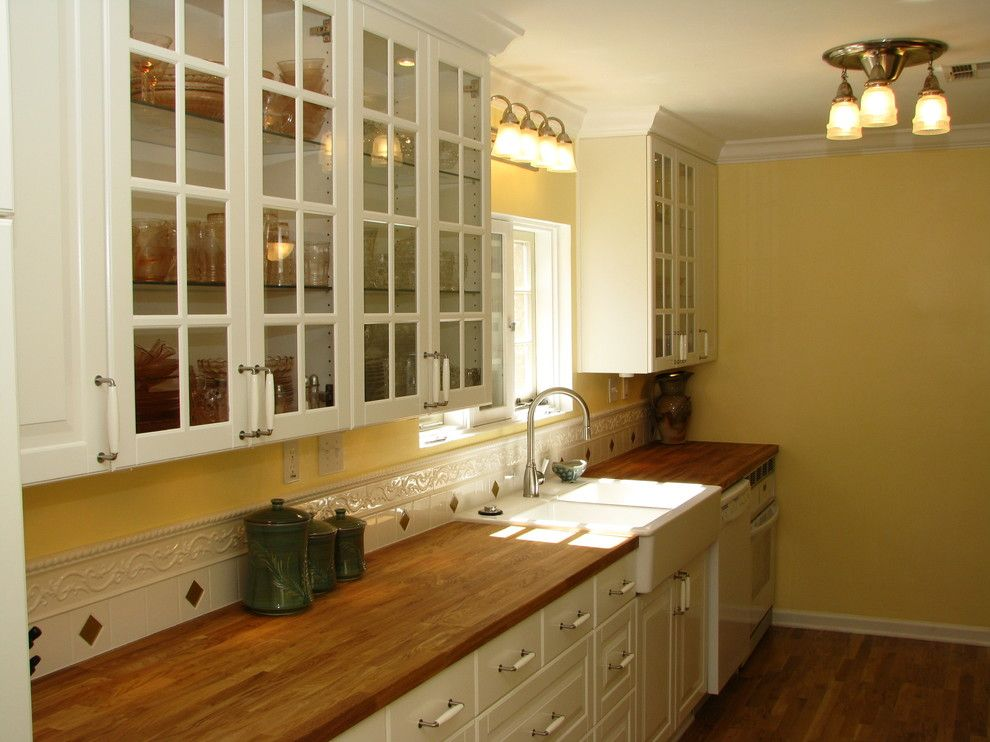 Butcher Block Nyc for a  Kitchen with a Antique Stove and Historic Ikea Kitchen by Homework Remodels ~ Tri Lite Builders