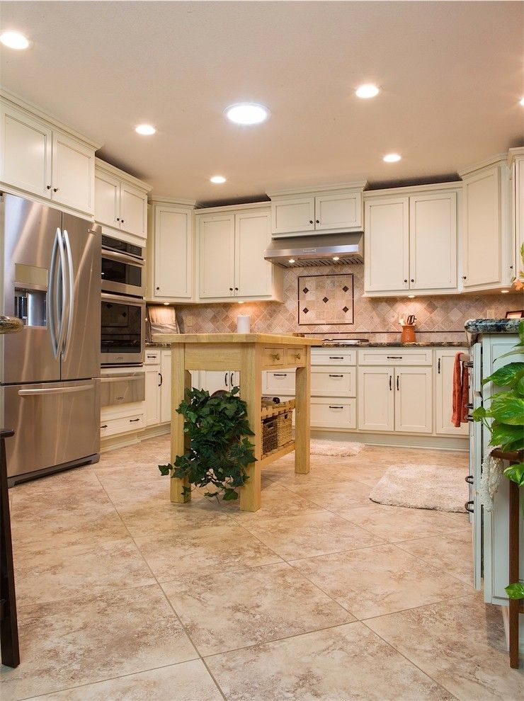 C Lazy U Ranch for a Traditional Kitchen with a Sola Tube and a Touch of Jewels by Dreammaker Bath & Kitchen