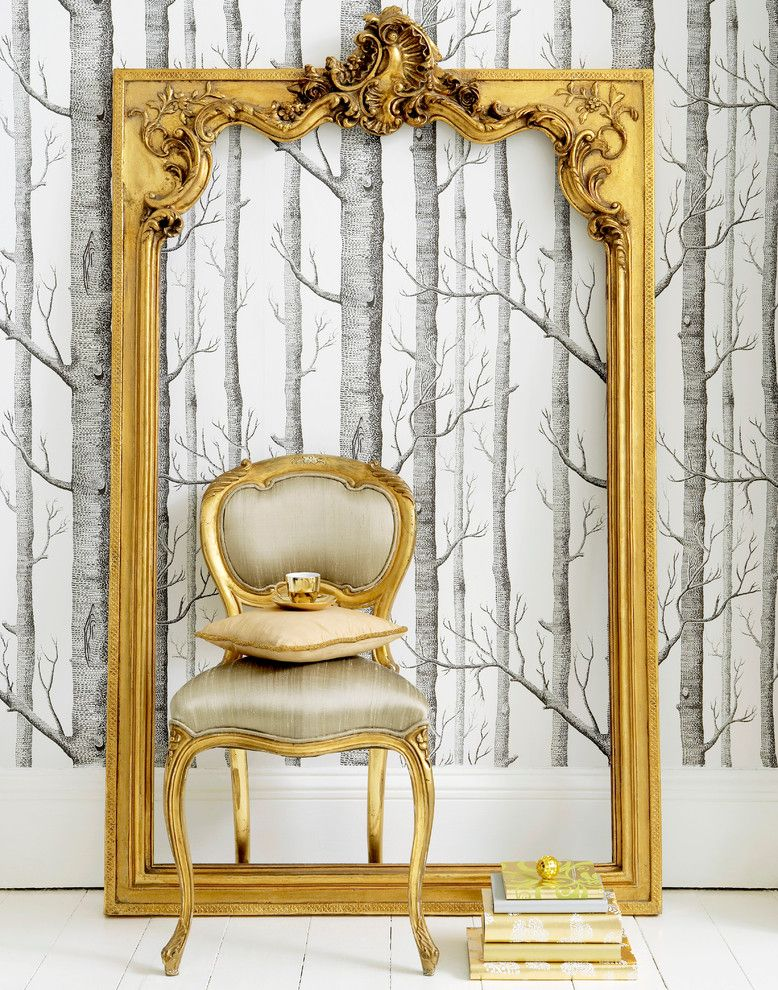 Cabriole for a Traditional Bedroom with a Upholstered and Versailles Baby Chair by the French Bedroom Company