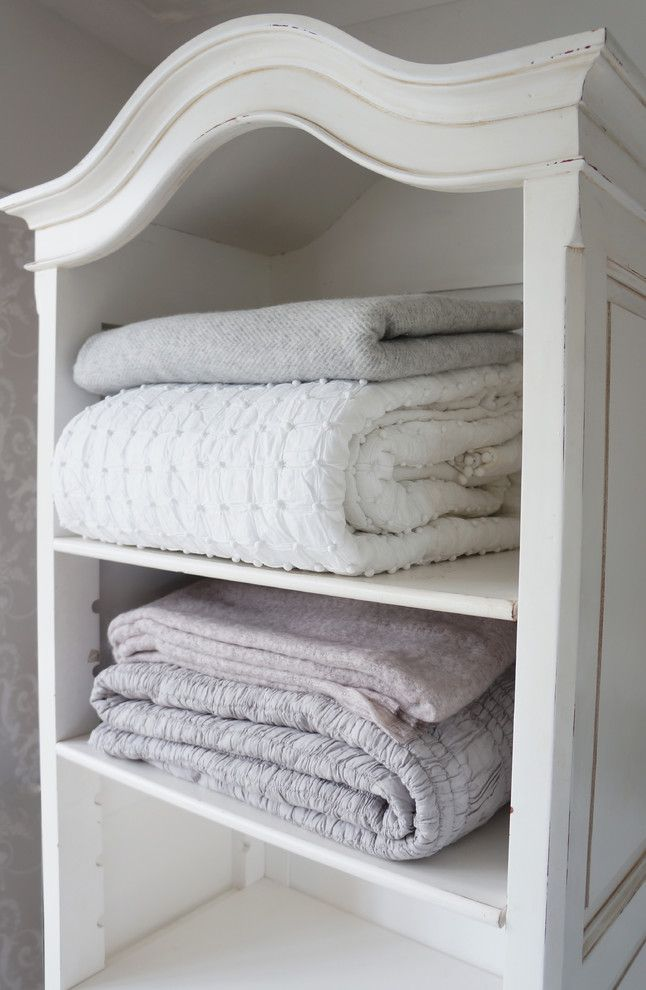 Cabriole for a Traditional Spaces with a Storage and Provencal Baby Showcase by the French Bedroom Company